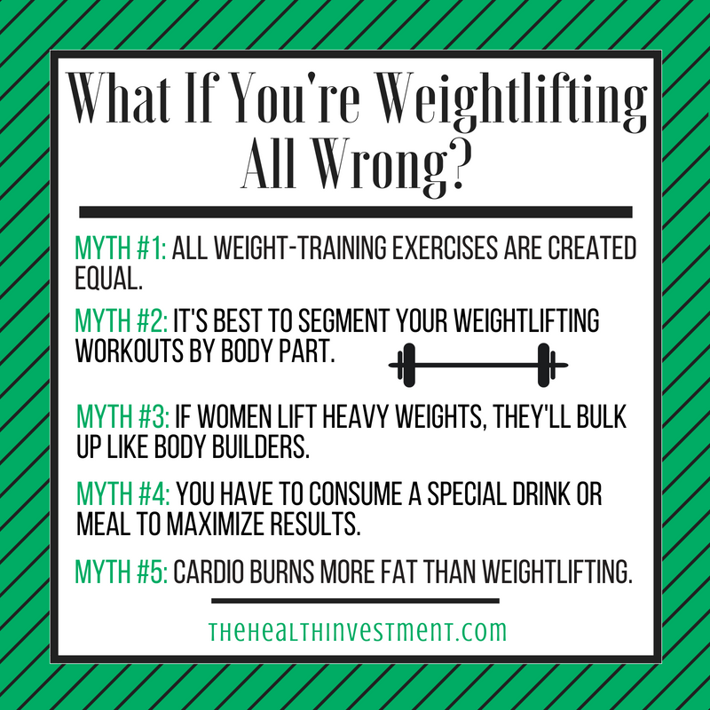 Infographic about best weightlifting practices