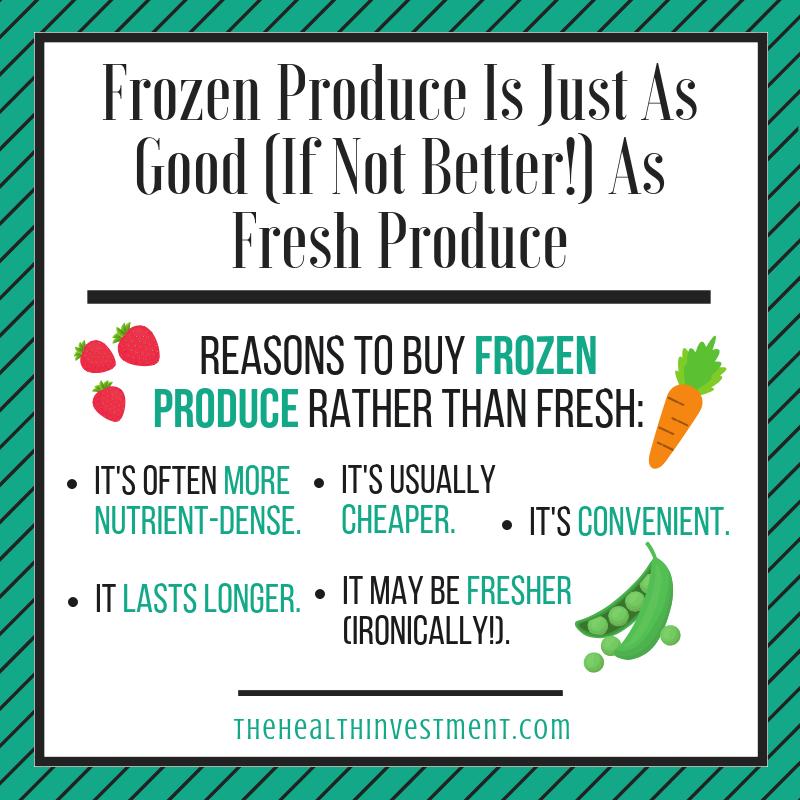 Frozen Produce Good