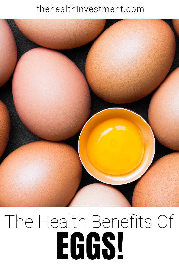 Picture of eggs above title: The Health Benefits of Eggs!