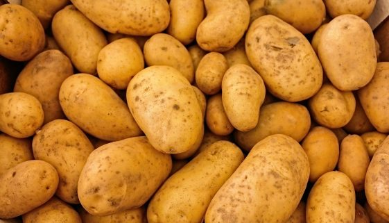 Picture of potatoes
