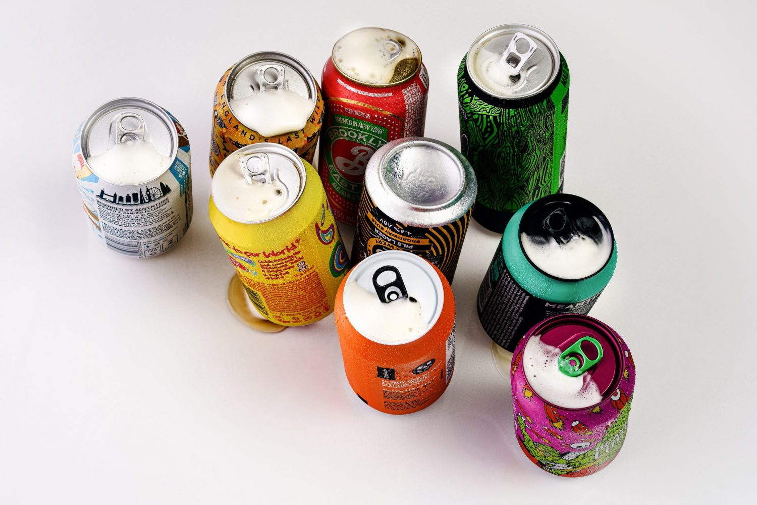 image of different sodas