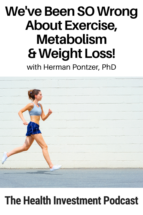 Woman jogging under title - We've Been SO Wrong About Exercise, Metabolism & Weight Loss!