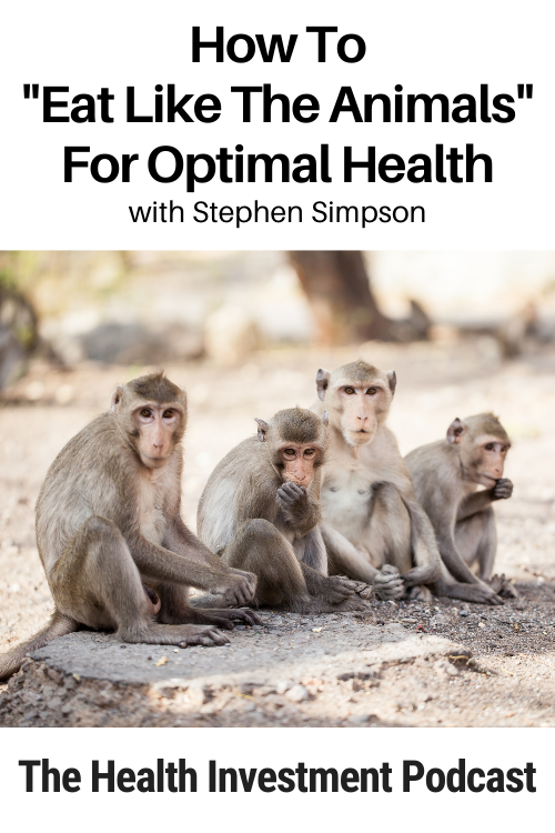 Four monkeys below title - How To Eat Like The Animals For Optimal Health